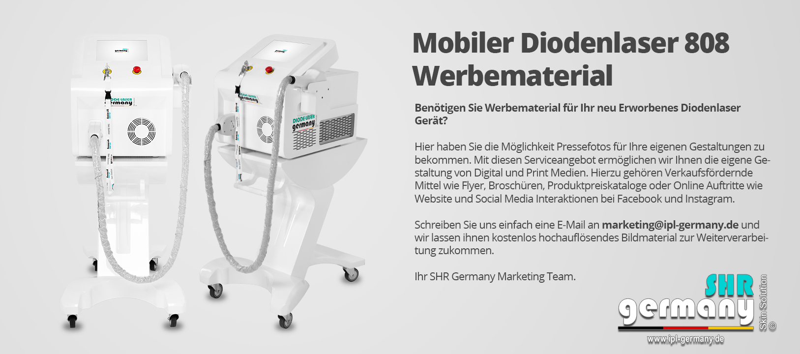 SHR_Germany_Diodenlaser_mobil_Werbematerial