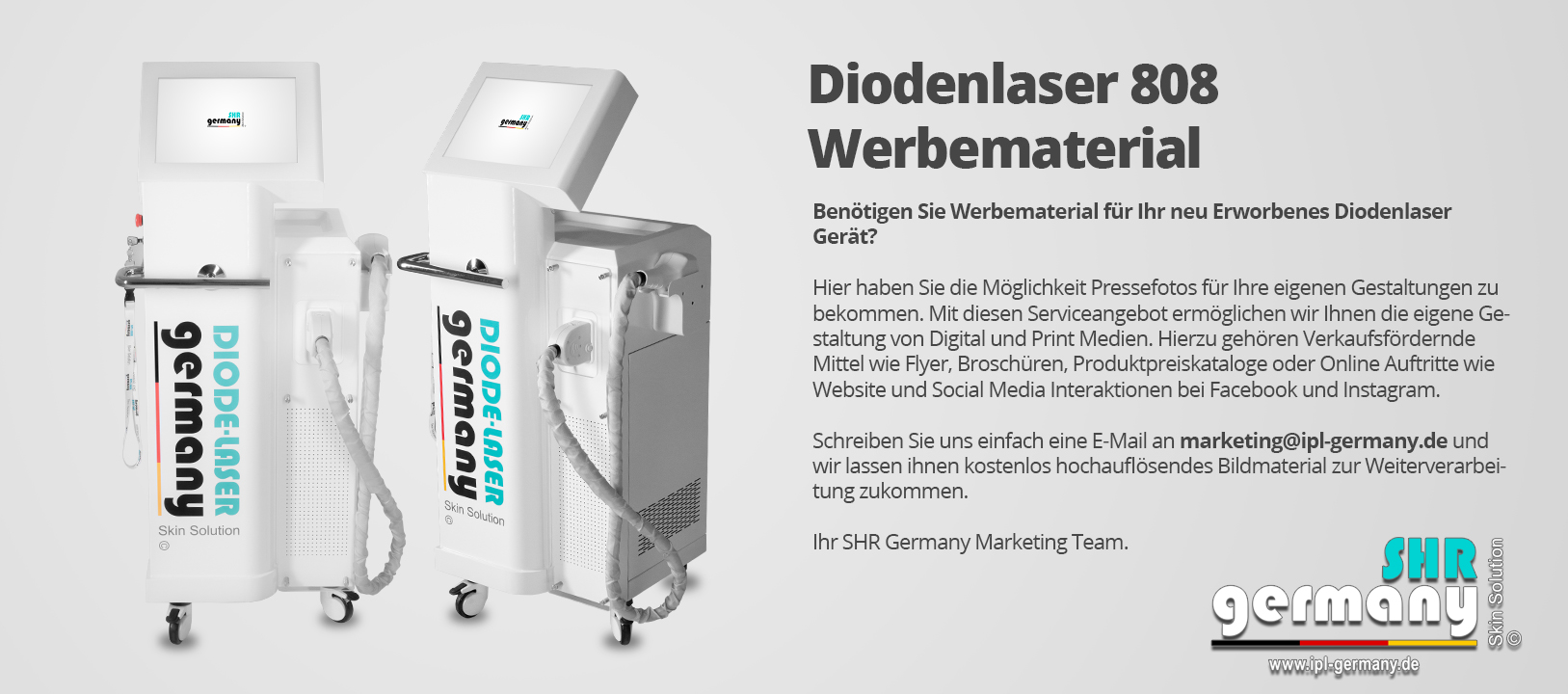 SHR_Germany_Diodenlaser_808_Werbematerial