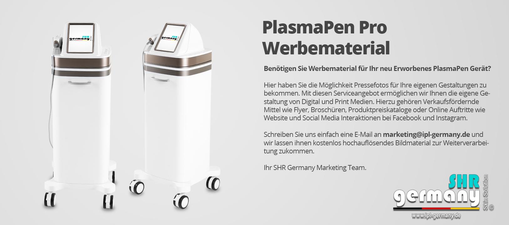SHR-Germany_PlasmaPenPro_Werbematerial