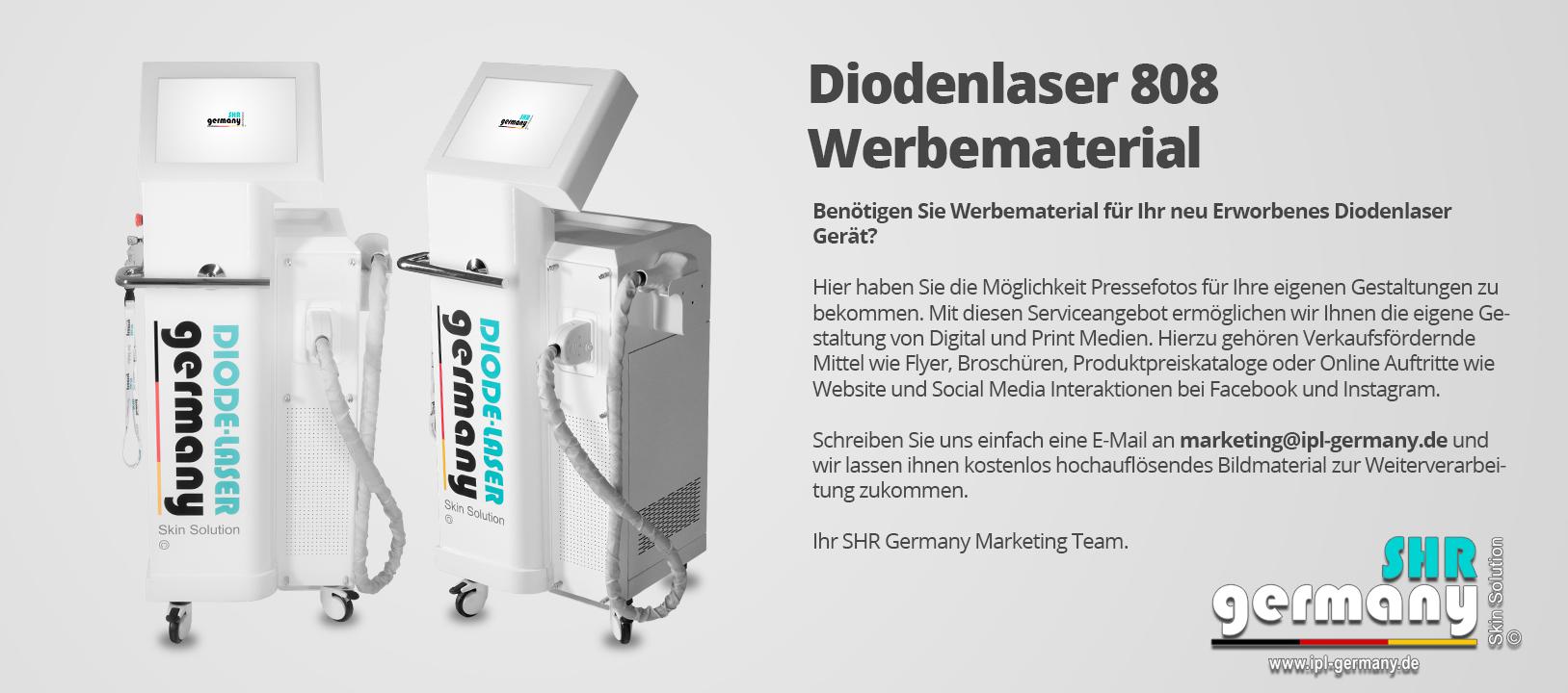 SHR_Germany_Diodenlaser_808_Werbematerial