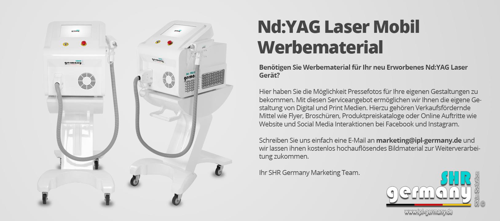 SHR-Germany_YaG_LASER_Mobil_Werbematerial