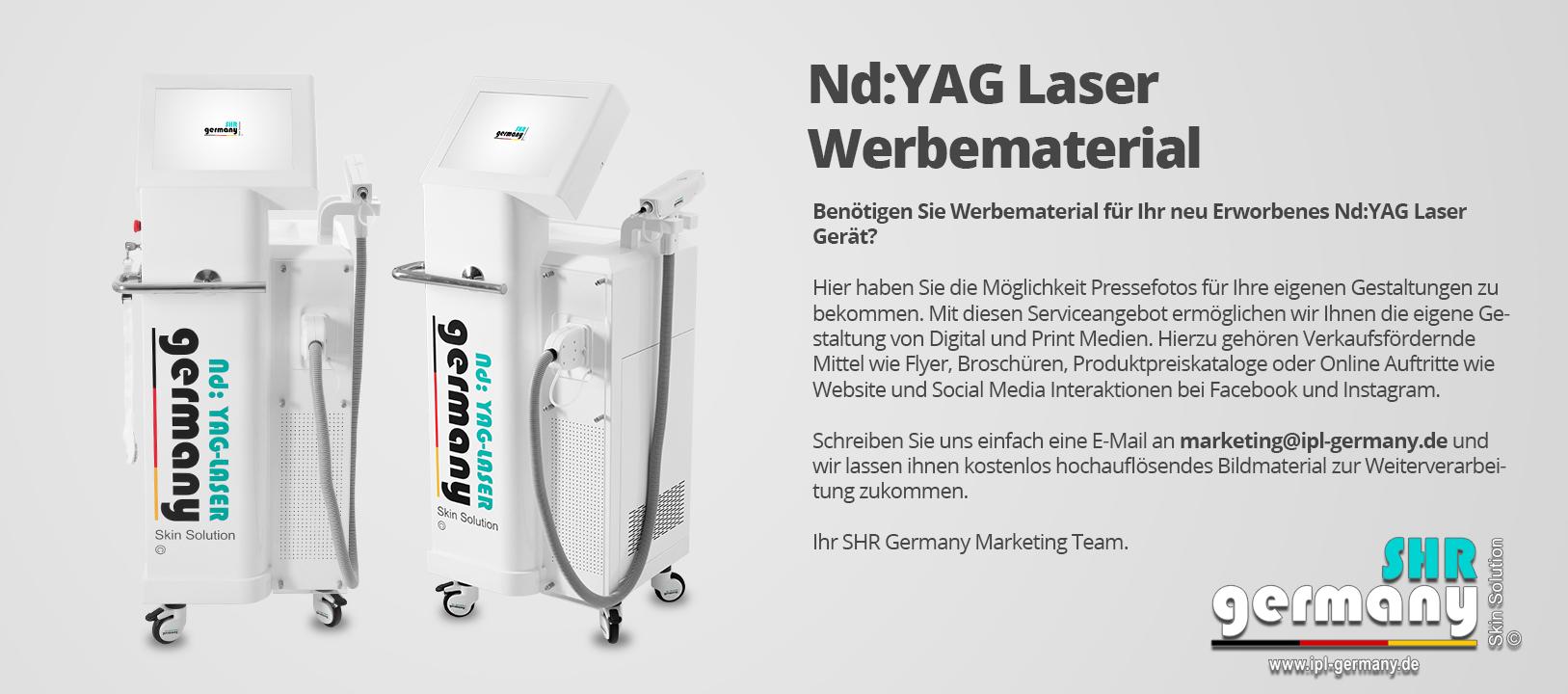 SHR-Germany_YaG_LASER_Werbematerial