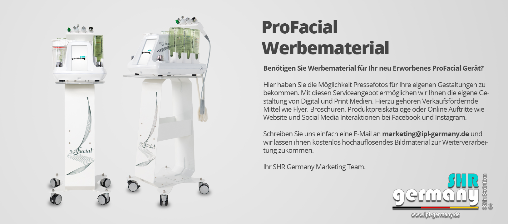 SHR-Germany-profacial-werbematerial
